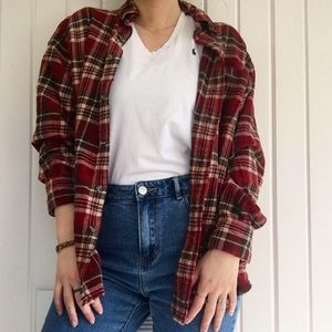 Comfy oversized flannel